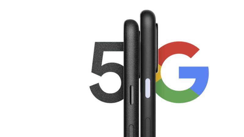 Googlen ennakkokuva Pixel 4a 5G:stä ja Pixel 5:stä.