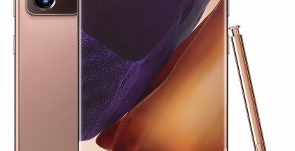 Elokuussa 2020 esitelty Samsung Galaxy Note20 Ultra 5G on toistaiseksi viimeisin Galaxy Note -puhelin.
