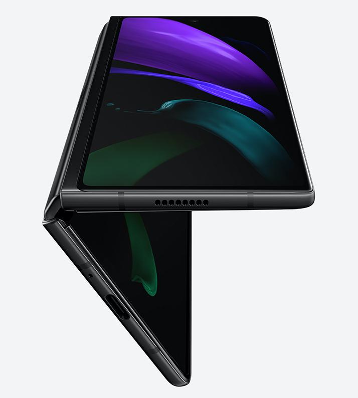 Galaxy Z Fold2:ssa on 6,23 tuuman kansinäyttö.