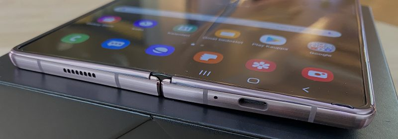 Galaxy Z Fold2:n saranan päädyt on nyt varsin hyvin suojattu.