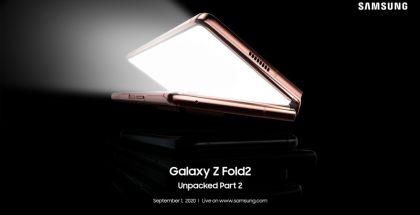 Samsung Galaxy Z Fold2:sta kerrotaan lisää 1. syyskuuta.