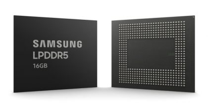 Samsung 16 GB LPDDR5.
