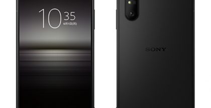 Sony Xperia 1 II, Frosted Black.
