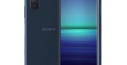 Sony Xperia 5 II tummansinisenä: Evan Blass / evleaks.
