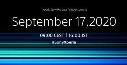 Sony on vahvistanut Xperia-julkistuksen 17. syyskuuta.
