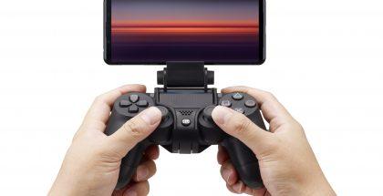 Xperia 5 II tukee myös PlayStationin DualShock 4 -peliohjainta.