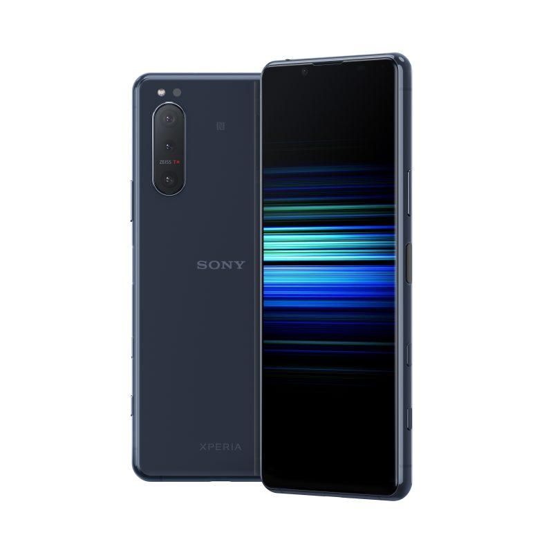 Sony Xperia 5 II sinisenä.