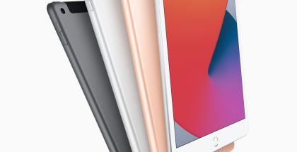 Nykyinen 8. sukupolven iPad.