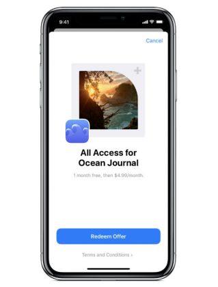 App Store -sovellukset voivat tarjota tilauksille ale- tai ilmaiskoodin.