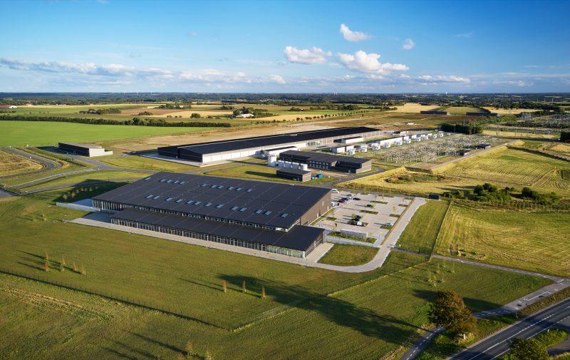 Applen datakeskus Tanskan Viborgissa.