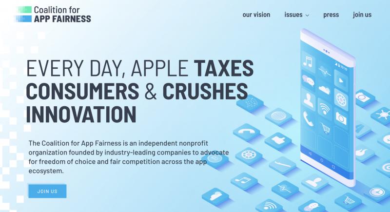 Coalition for App Fairness houkuttelee lisää sovelluskehittäjiä mukaan yhteenliittymään.