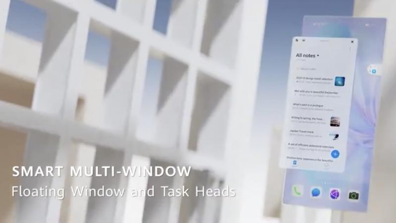 Smart Multi-Window mahdollistaa helpon kelluvien ikkunoiden käytön.
