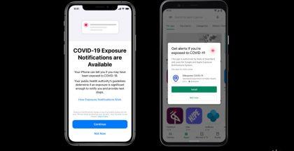 Applen ja Googlen kehittämä uusi järjestelmä toimii ilman terveysviranomaisten sovelluksia.