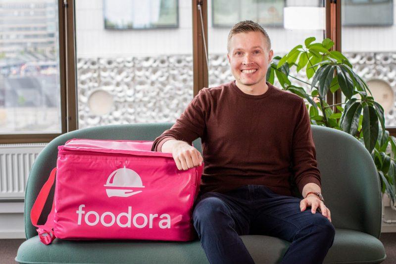 Foodora Finlandin toimitusjohtaja Joonas Kuronen.