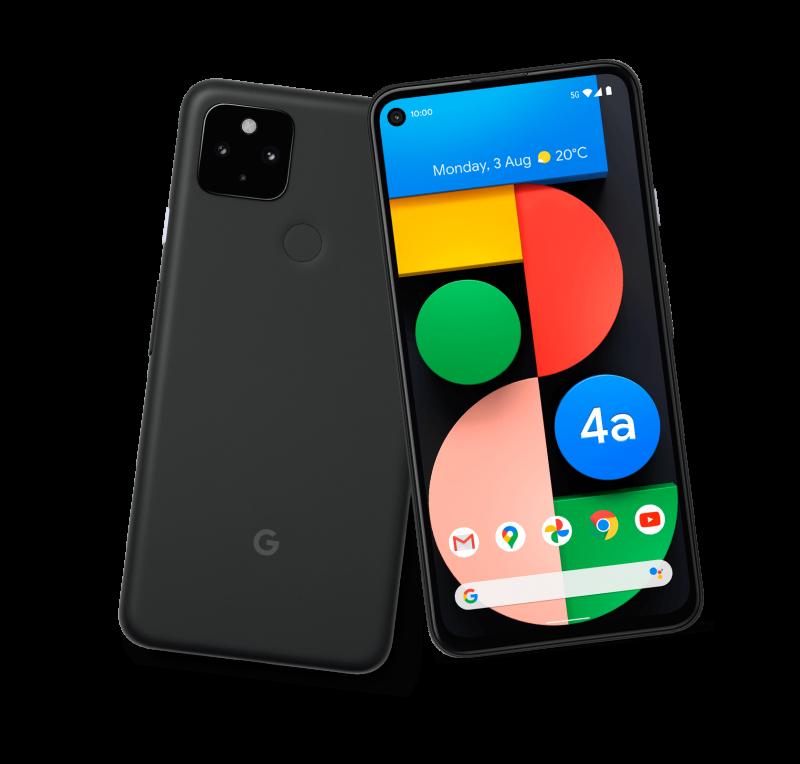 Nykyisillä Pixel-puhelimilla rajaton Google Kuvat -tila säilyy käytössä. Kuvassa Pixel 4a 5G.