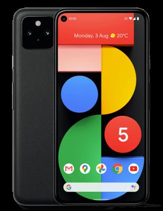 Pixel 5:ssä on 6,0 tuuman näyttö.