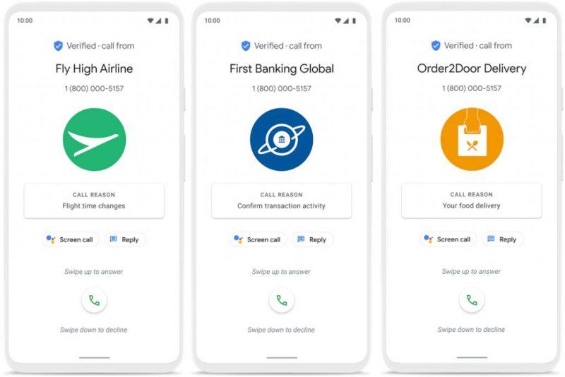 Googlen Puhelin-sovelluksen uusi Verified Calls antaa yrityksille mahdollisuuden kertoa puhelun tarkoituksesta.