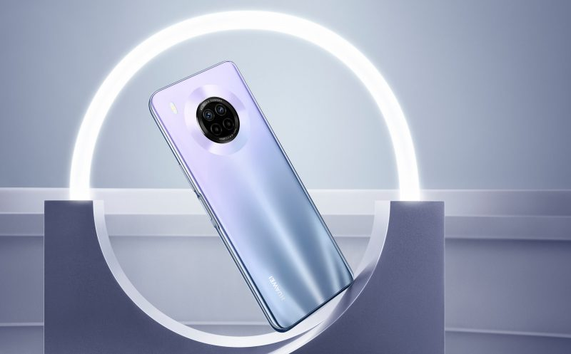 Huawei Y9a, Space Silver.