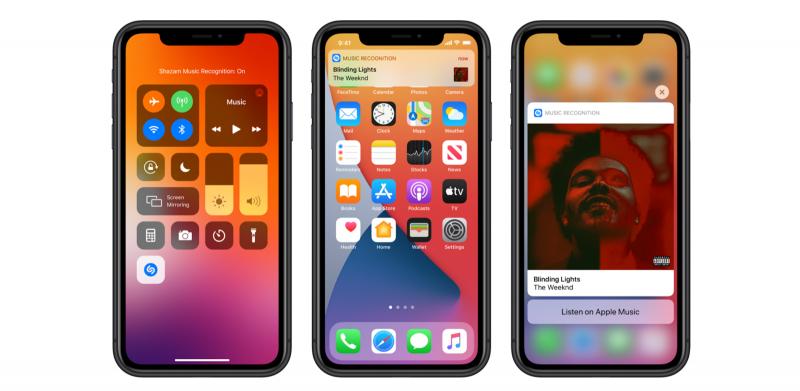 iOS 14.2 tuo Shazam-palvelun osaksi iOS-käyttöjärjestelmää.