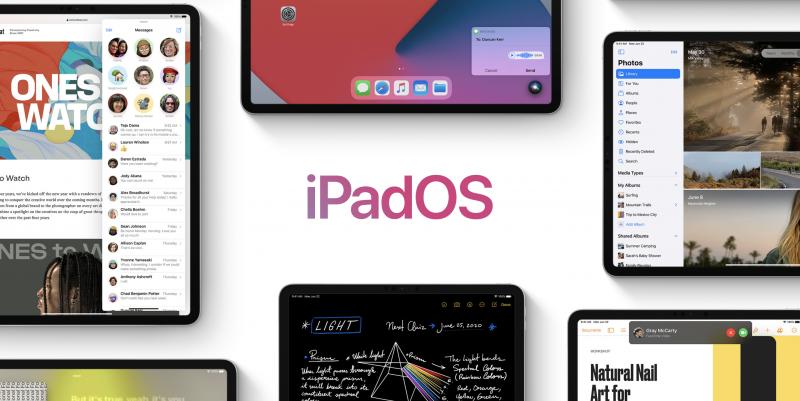 iPadOS 14 tuo osaan sovelluksista uuden sivupalkin.