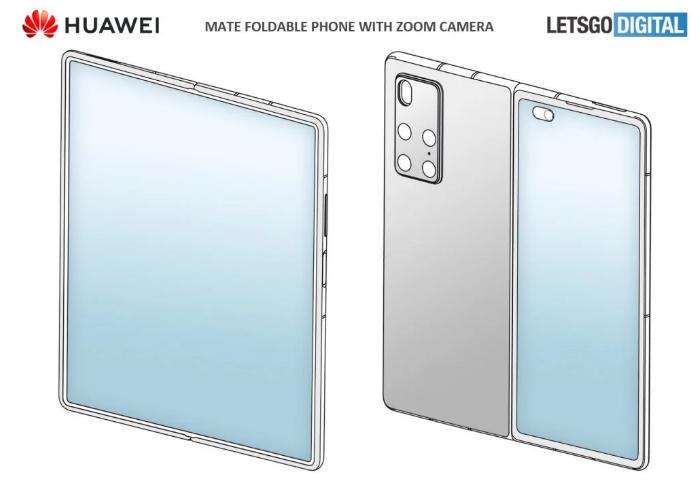 Huawein mallisuojahakemuksessa nähty laite voi kertoa tulevan taittuvanäyttöisen designista.