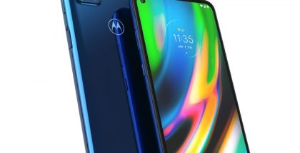 Moto G9 Plus, Navy Blue.