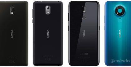Oikealla Nokia 3.4. Kuva: Evan Blass / evleaks.