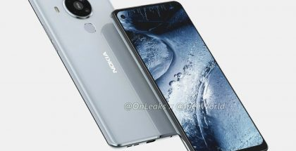 Nokia 7.3:n mallinnos. Kuva: OnLeaks / IPEE World.