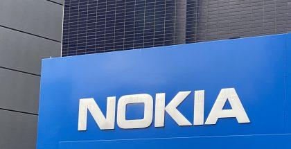 Nokia logo.