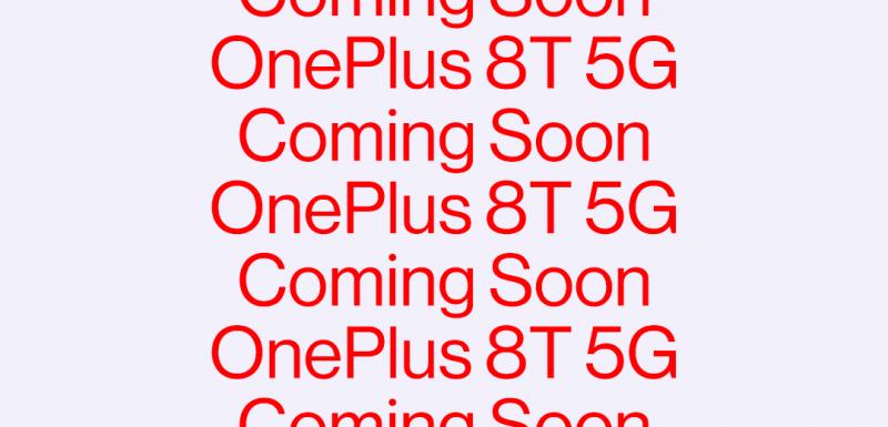 OnePlus 8T tulossa pian.
