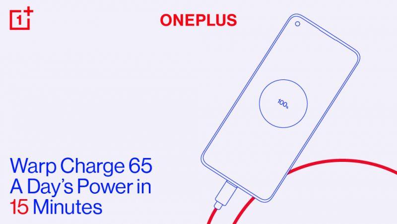 OnePlus Warp Charge 65.