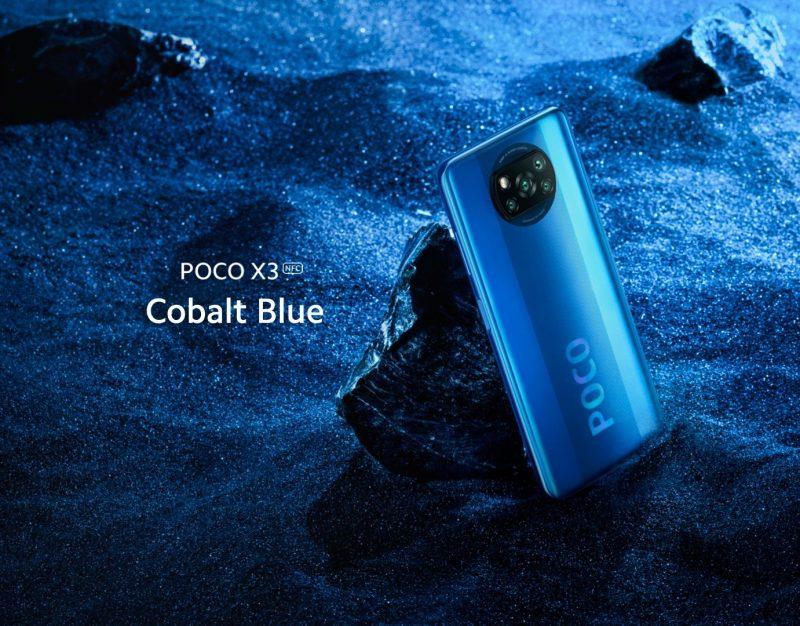 Poco X3 NFC, Cobalt Blue.