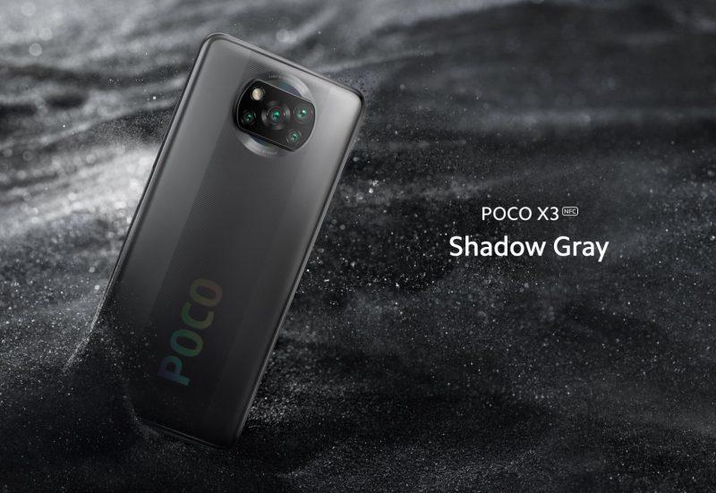 Poco X3 NFC, Shadow Gray.