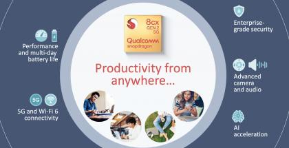 Qualcomm esitteli uuden version Snapdragon-järjestelmäpiiristään kannettaville tietokoneille.