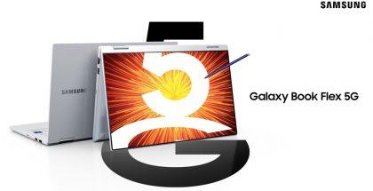 Galaxy Book Flexin uusi versio lisää laitteeseen 5G-tuen.