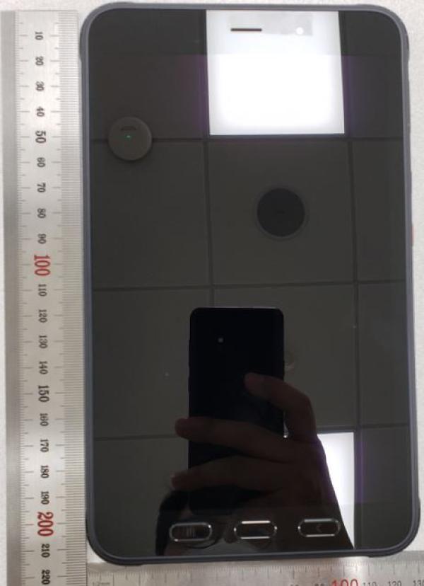 Samsung Galaxy Tab Active 3 sisältää myös fyysiset navigaatiopainikkeet näyttönsä alapuolella.