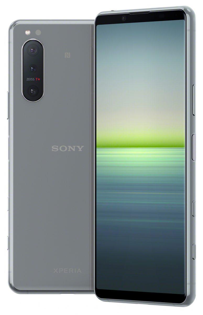 Sony Xperia 5 II harmaana.