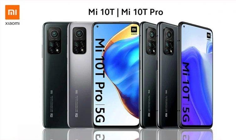Xiaomi Mi 10T Pro ja Mi 10T.