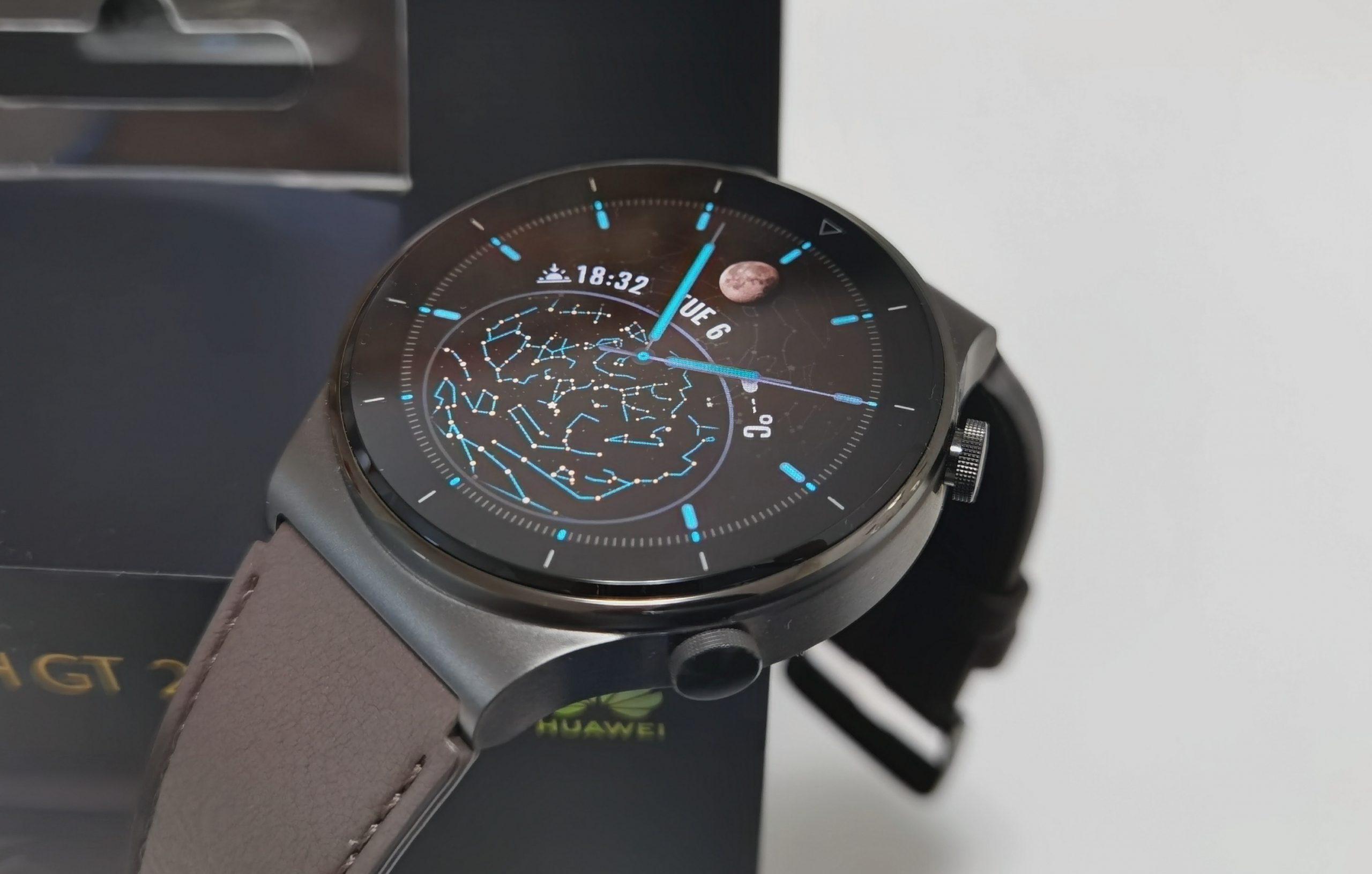 Titaanirunkoinen Huawei Watch GT 2 Pro on laadukas ja tyylikäs.