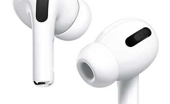 Nykyiset AirPods Pro -kuulokkeet.