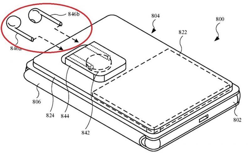 Applen patenttihakemus esittelee iPhonen takapintaan kiinnittyvää lisäakkukuorta, jossa voi olla paikat myös AirPods-kuulokkeiden lataamiseen.