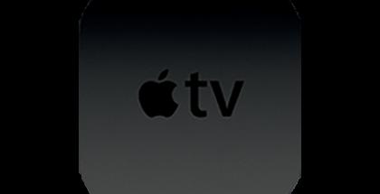 Applen sivuilta paljastunut uusi Apple TV -kuvake.