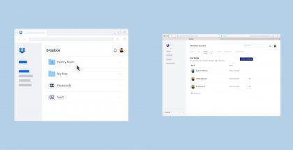 Dropbox Family toimii kuudelle perheenjäsenelle.
