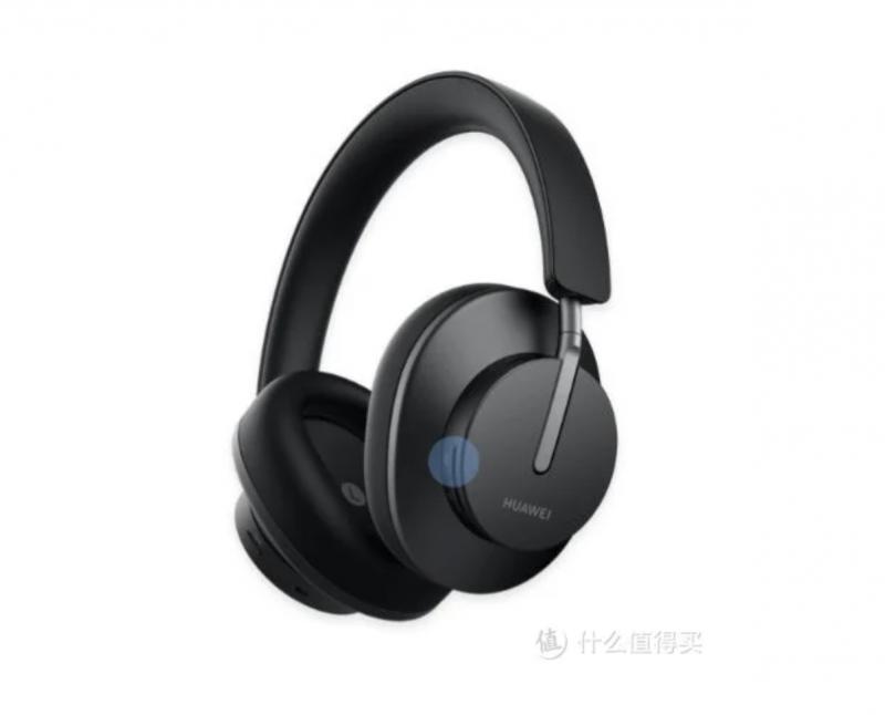 Paljastunut kuva Huawei FreeBuds Studio -kuulokkeista.