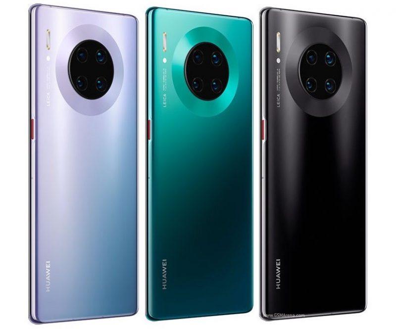 Huawei Mate 30E Pron värivaihtoehtoja.