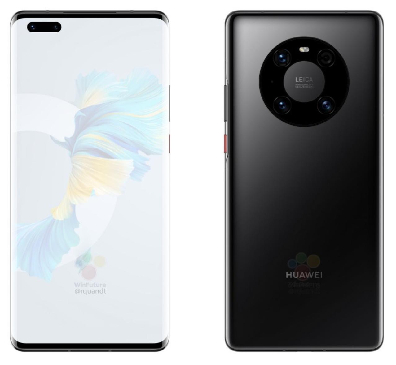 Musta Huawei Mate 40 Pro. Kuva: WinFuture.de / Roland Quandt.