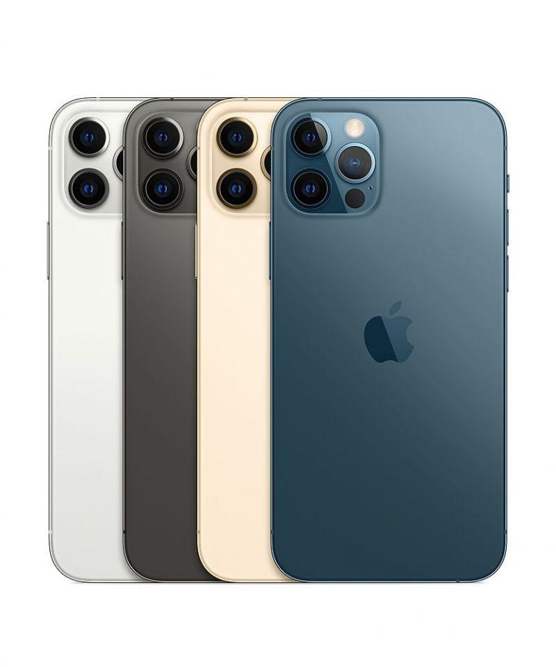 iPhone 12 Pron värivaihtoehdot.