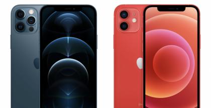 iPhone 12 Pro ja iPhone 12.