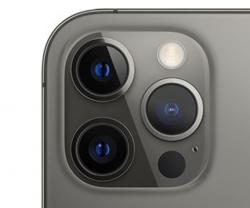 iPhone 12 Pro -malleissa on kolmen takakameran lisäksi LiDAR-skanneri.