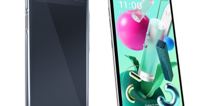 LG K92 5G:ssä on neljän takakameran lisäksi neliosainen LED-kuvausvalo.